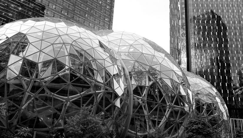 Amazon Spheres in Seattle