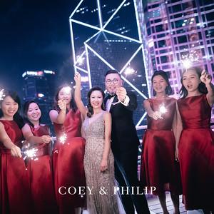 Wedding Day- Coey and Philip (China Club)
