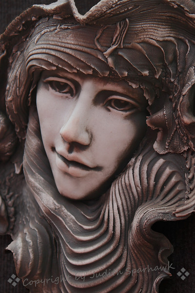 Face of Clay ~ I ran across these beautiful sculptural pieces, all depicting women.  I loved the emotional expressions shown. These are close-ups of the artwork in clay.  In my opinion, the artist is truly gifted, and I was so glad to find these great women.