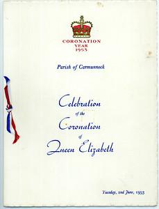 QE II Coronation 1953