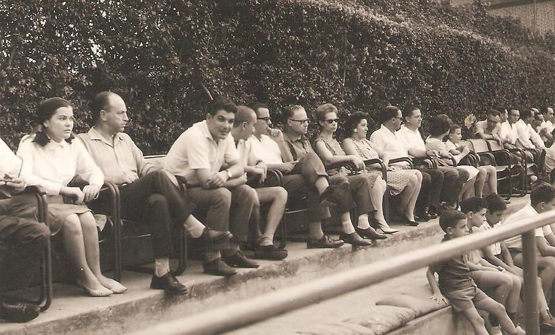 Jogo de Futebol de Salão em Julho de 1963 entre o Dundo e a Zona Leste