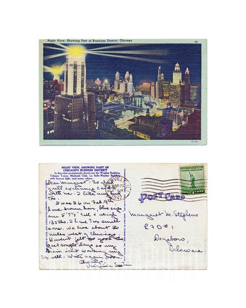 Night View, Chicago - 1942