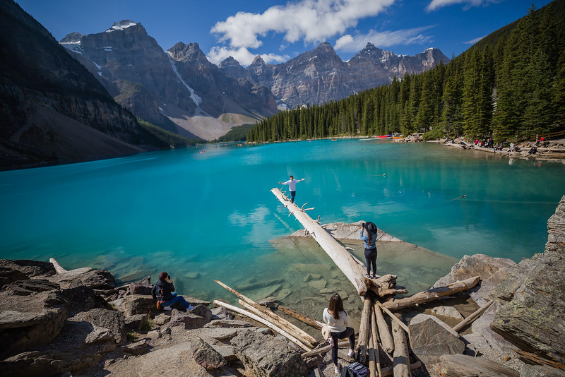 Moraine Lake Lakeshore