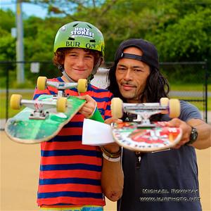 Skate Boarding, Montauk, NY, 07.05.16 Noah Avallone