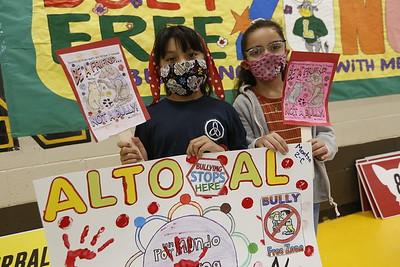Anti-Bullying Rally at Lamar Elementary School