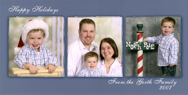 2007.12 Holiday Cards & Pics