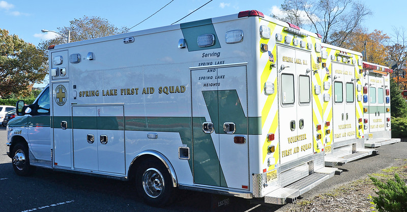 THE SPRING LAKE FIRST AID SQUAD CELEBRATED 90 YEARS OF SERVICE AT MARUCCI MEMORIAL PARK, SPRING LAKE, NEW JERSEY ON 11/03/2018. (STEVE WEXLER/THE COAST STAR).