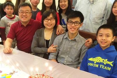 Vincent Yao 16 birthday 2016