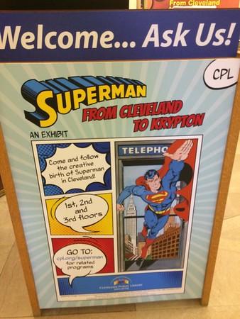 06262017 Cleveland Public Library Superman Exhibit