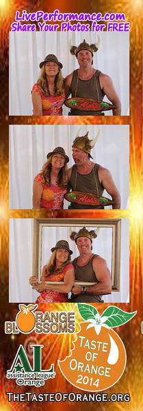 Taste of Orange 2014 - EYE Photo Booth Photo Strips