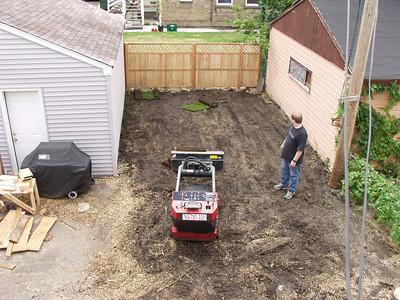 Sodding Yard
