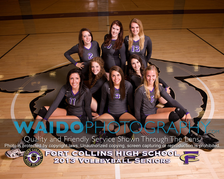 2013 FCHS Volleyball