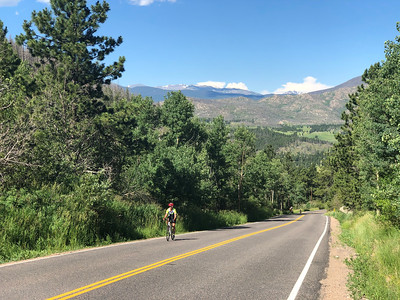Rist Canyon training ride July 20