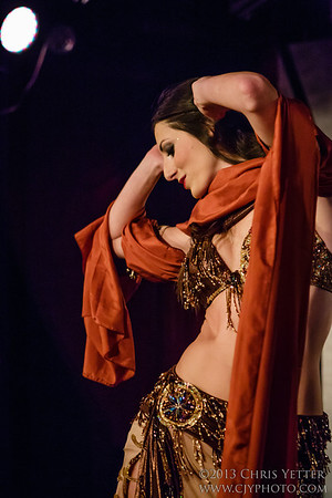 Fleurs d'Egypte present AUBRE HILL in STRAIGHT UP! BELLYDANCE