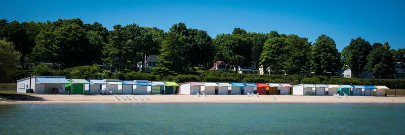 Beach club on Lake Charlevoix