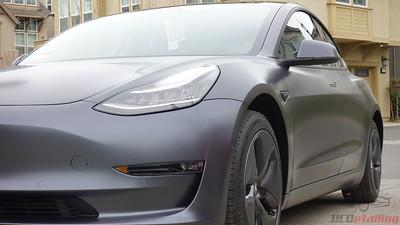 Tesla Model 3 - Midnight Silver Metallic - Stealth PPF