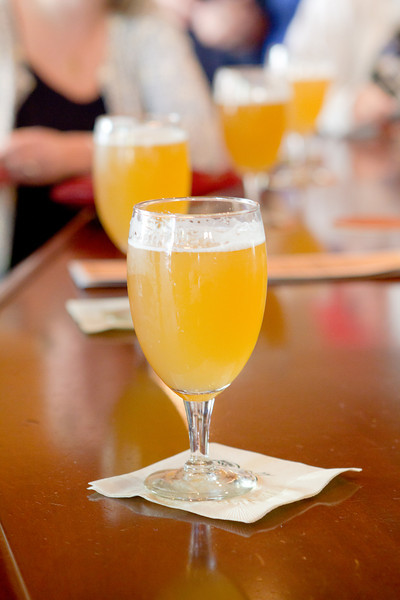Sparrow Saison Tapping - Iron Hill WC Dish