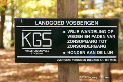 Eelde Landgoed Vosbergen