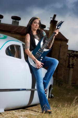 Jessica vs the Guitar