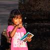 Postcard seller, Siem Reap, Cambodia