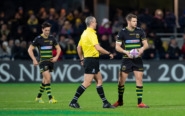 ASM Clermont Auvergne vs Northampton Saints, European Rugby Challenge Cup, Stade Marcel Michelin, 12 January 2019