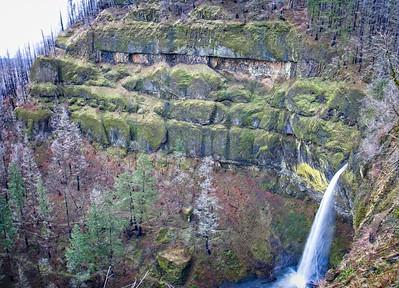 Upper McCord & Elowah Falls - 2020/12/31