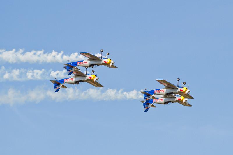 4 x Z-50LX Flying Bulls (ČR)