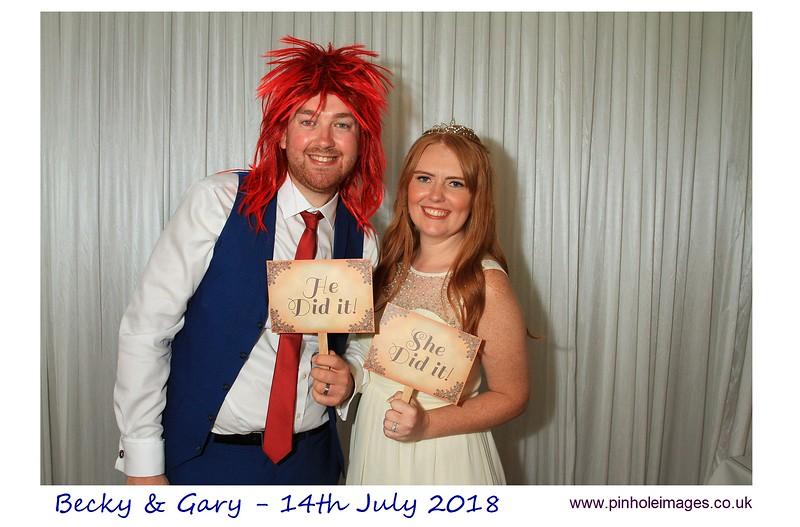 Becky and Gary Wedding