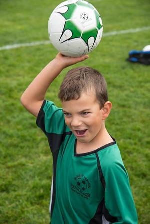 Ezra's First Soccer Games - 2017