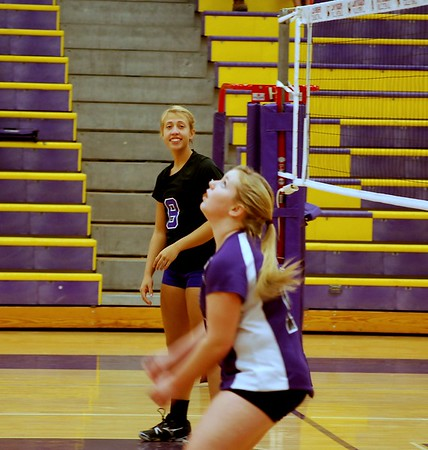 North Henderson and West Henderson JV Volleyball 2012