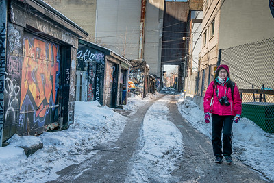 Mar 2015 - Graffiti Alley in Toronto's Fashion District