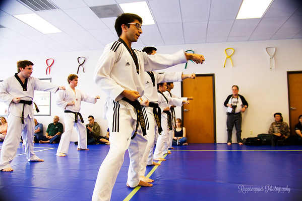 Black Belt Test 4-18-15 ~ Forms