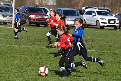 9 Girls Pacesetters Red vs Erie Admirals