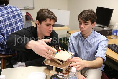 Trinity College - Robotics Class - March 27, 2013