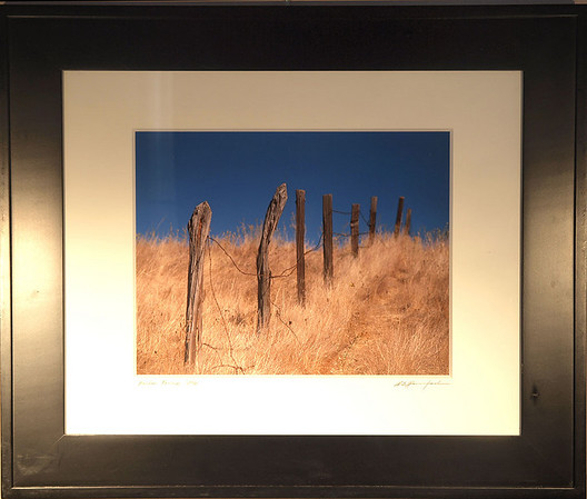 Framed and Matted in Stock
