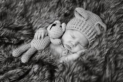 Annie & Todd Newborn Shoot