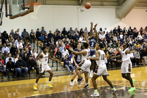 2019-20 basketball Landon 61 v Georgetown Prep 67
