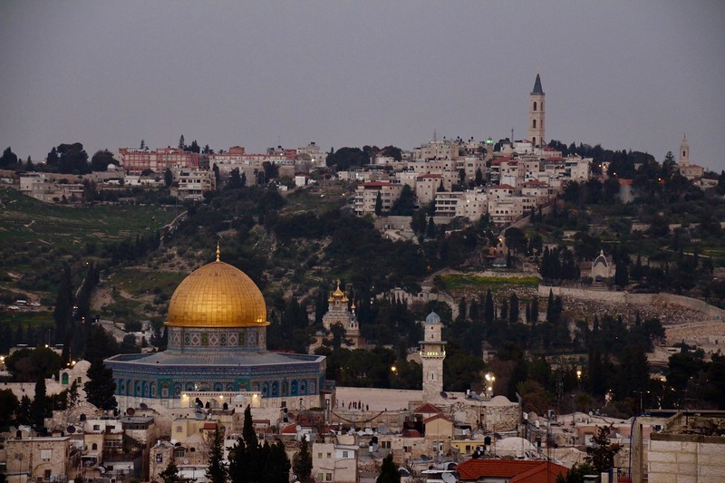 Dome of the Rock and Mount of Olives