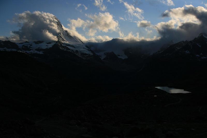 The Matterhorn in the evening light.
