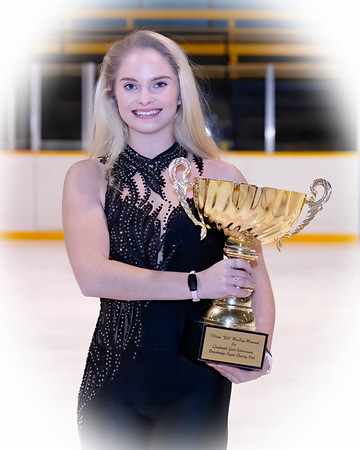 Hannah Carty Figure Skater Bracebridge Skating Club