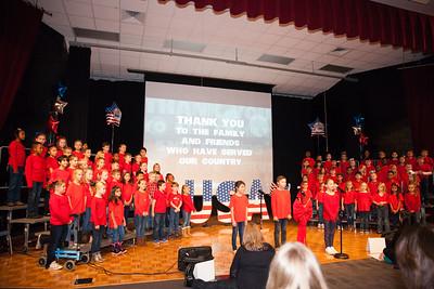 Aanya 2nd Grade Veterans day