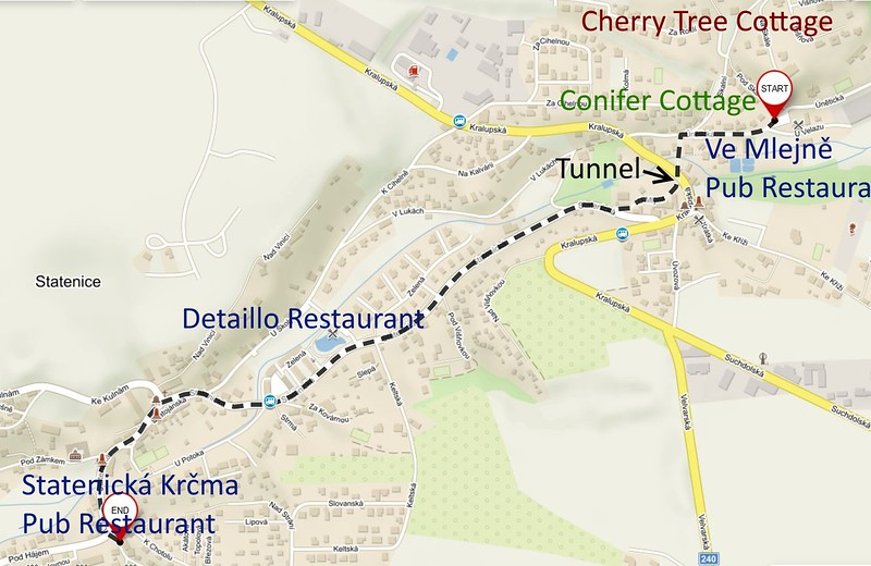 Directions to Masopust Carnival Statenice