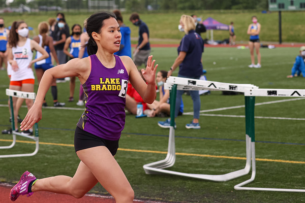 Girls Track & Field at South County Invitational 5/3/21