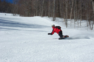 20000212 Sugarbush Vermont Snowboarding