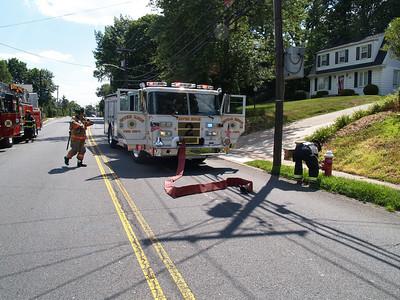07-15-08 River Edge, NJ - Basement Fire