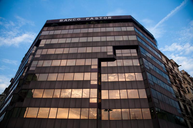 Edificio del Banco Pastor en el Paseo de Gracia, Barcelona