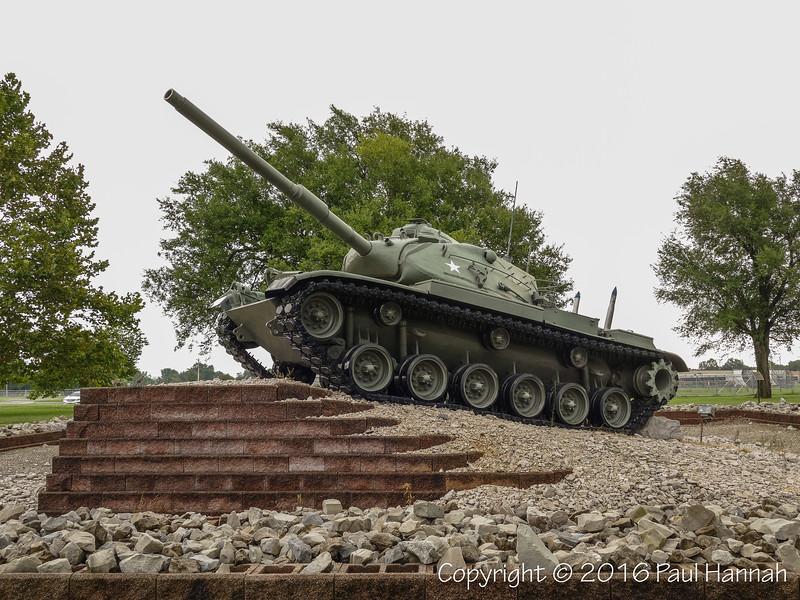 Veterans Park - Sikeston, MO - M60A3