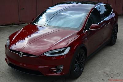 2016 Tesla Model X P90D Signature Edition - Signature Red