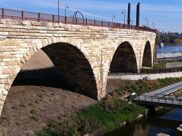 Old Stone Arch Bridge Minneapolis, MN
