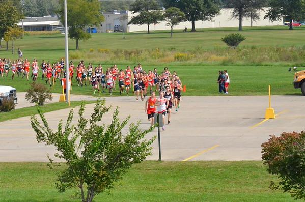 CHS/MHS Open race @ Olney 9/20/14